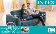Improved Intex Double Pull Out Sofa With Electric Pump | Furniture for sale in Lagos State, Lagos Mainland