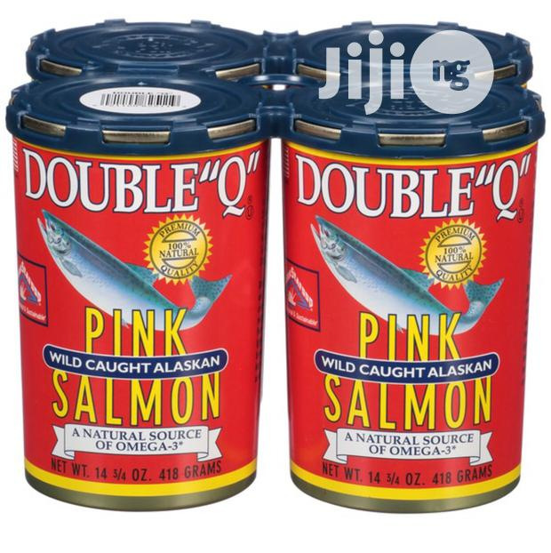 Double Q Pink Salmon 418g