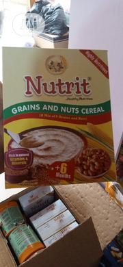 Nutrit Grains And Nuts Cereal | Baby & Child Care for sale in Lagos State, Ifako-Ijaiye