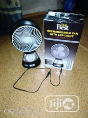 Rechargeable Fan With Touch Light   Accessories & Supplies for Electronics for sale in Delta State, Warri