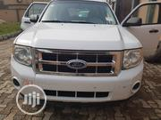 Ford Escape XLT 2010 White   Cars for sale in Lagos State, Isolo