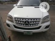 Mercedes-Benz M Class 2009 ML350 4x2 White | Cars for sale in Lagos State, Ikeja