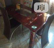 Quality Strong Four Seater Tinted Glass Dining Table | Furniture for sale in Anambra State, Onitsha