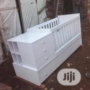 Baby Cot White Colour | Children's Furniture for sale in Lagos State, Lekki Phase 1