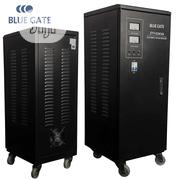 Blue Gate 20KVA Single Phase Central Servo Voltage Stabilizer | Electrical Equipment for sale in Lagos State, Ojo
