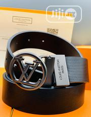 Louis Vuitton (LV) Leather Belt for Men's | Clothing Accessories for sale in Lagos State, Lagos Island