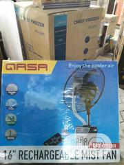 Qasa Qasa 16-inch Rechargeable Mist Fan QRF-7116R | Home Appliances for sale in Lagos State, Ikeja