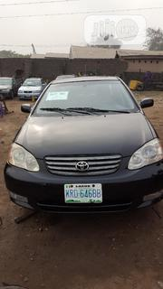 Toyota Corolla 2003 Sedan Automatic Black | Cars for sale in Lagos State, Orile
