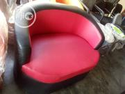 Double Black/Red Sofa Chair   Furniture for sale in Lagos State, Lagos Mainland