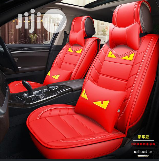 Character Leather Seat Cover