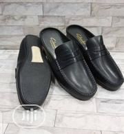 Quality Clarks Half Shoes(Black Brown) | Shoes for sale in Lagos State, Alimosho