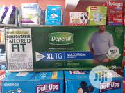 Depend Male Adult Diapers (80 Counts) | Baby & Child Care for sale in Lagos State, Gbagada