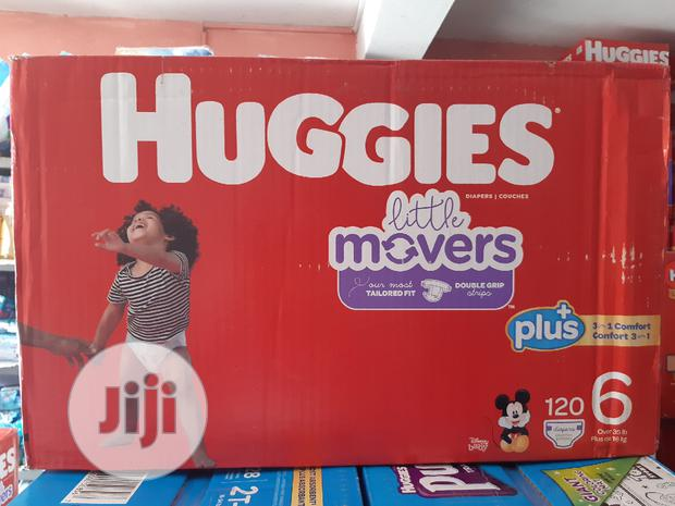 Huggies Little Movers (120 Counts ) Size 6