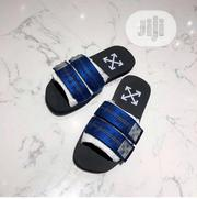 Off White Black Sole Men's Slides   Shoes for sale in Lagos State, Lagos Island
