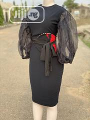 Black Dress With a Belt   Clothing Accessories for sale in Abuja (FCT) State, Lugbe District