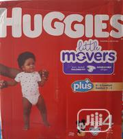 Huggies Little Movers (186 Counts) Siz 4 | Baby & Child Care for sale in Lagos State, Lagos Mainland