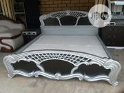 Italia Exortic Carved Bed | Furniture for sale in Abia State, Aba North