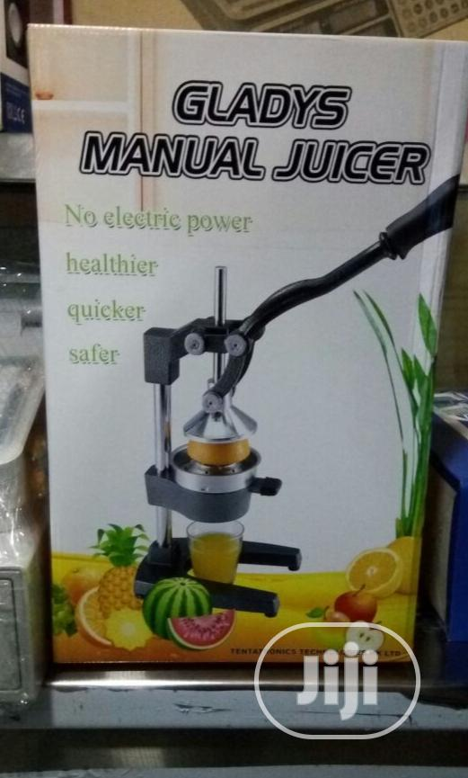 Manually Operated Juice Extractor