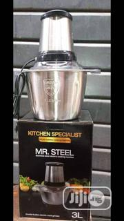Food Processor 3liters Stainless Steel | Kitchen Appliances for sale in Lagos State, Lagos Island