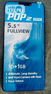 New Tecno Pop 2 Power 16 GB Blue | Mobile Phones for sale in Abuja (FCT) State, Nyanya