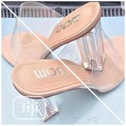 Glass Heel With Transparent Cover Slippers | Shoes for sale in Lagos State, Ikoyi