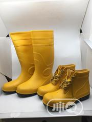 Yellow Safety Rainboot Both Long And Short Available | Safety Equipment for sale in Lagos State, Lagos Island