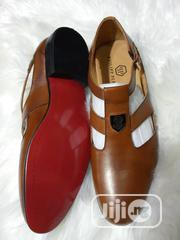 Original Brown Leather Philipp Plein Men's Sandals Available. | Shoes for sale in Lagos State, Lagos Island