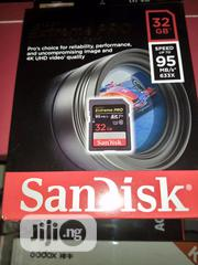 SD Card 32gb Speed Up To 95 MB/S 633x | Photo & Video Cameras for sale in Lagos State, Lagos Island