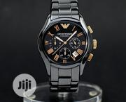 Emperio Armani Designer Time Piece Available | Watches for sale in Lagos State, Magodo
