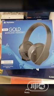 New Gold Wireless Headset For PS4 | Audio & Music Equipment for sale in Lagos State, Ikeja