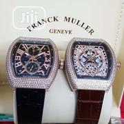 Franck Muller Luxury Couple Designer Time Piece | Watches for sale in Lagos State, Magodo