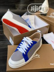 Louboutin Canvas Sneaker Available as Seen Swipe to Pick Your Prefer   Shoes for sale in Lagos State, Lagos Island