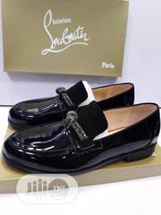 Black Christian Louboutin Leather Men's Shoe Available.   Shoes for sale in Lagos State, Lagos Island
