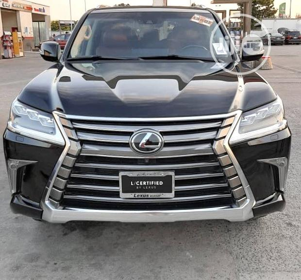 Archive: New Lexus LX 570 2019 Black