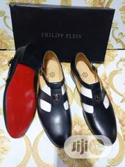 Check Out This Philipp Plein Leather Sandals Made for You. | Shoes for sale in Lagos State, Lagos Island