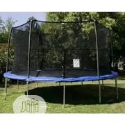 15ft Trapoline With Net   Sports Equipment for sale in Lagos State, Yaba