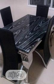 Marble Dining Table And Chairs | Furniture for sale in Lagos State, Ojo