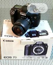 Canon DSLR Camera Eos 7D With 18-55mm and 4gb CF Card | Photo & Video Cameras for sale in Lagos State, Ikeja
