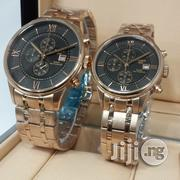 Tissot 1853 Chronograph Gold Couples Watch | Watches for sale in Lagos State, Oshodi-Isolo