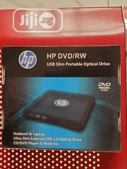 HP DVD/RW USB Slim Portable Optical Drive | Computer Hardware for sale in Lagos State, Ajah