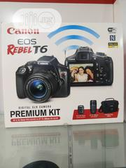 Canon Eos T6 18-55mm +75-300mm + Bag (Premium Kit | Photo & Video Cameras for sale in Lagos State, Ikeja