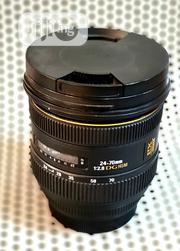 Sigma 24-70mm F2.8 EX DG HSM for Canon Camera | Photo & Video Cameras for sale in Lagos State, Ikeja