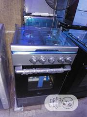 Midea 4gas Burners Cooker, Oven and Grill With 2yrs Wrnty. | Kitchen Appliances for sale in Lagos State, Ojo