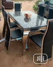 Marble Dinning Table With Chairs | Furniture for sale in Lagos State, Ojo