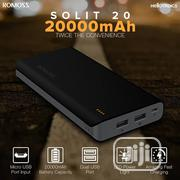 Romoss Solit 20 20000mah Power Bank (Black) | Accessories for Mobile Phones & Tablets for sale in Lagos State, Ikeja