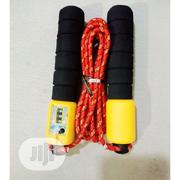Skipping Rope With Counter - Multi Color   Sports Equipment for sale in Lagos State, Surulere