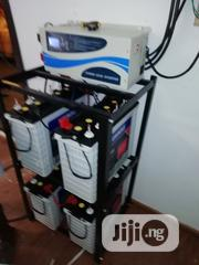 12v 220ah Luminous Tubular Battery and 5kva Inverter With Warranty | Electrical Equipment for sale in Lagos State, Ojo