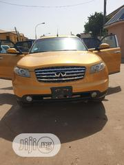 Infiniti FX35 2006 Base 4x2 (3.5L 6cyl 5A) Gold   Cars for sale in Abuja (FCT) State, Durumi