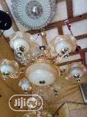 Double Chandelier Lights Gold | Home Accessories for sale in Lagos State, Lekki Phase 2