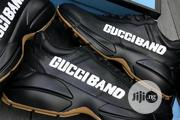 Gucci Designer Sneakers Available in Black and White | Shoes for sale in Lagos State, Magodo